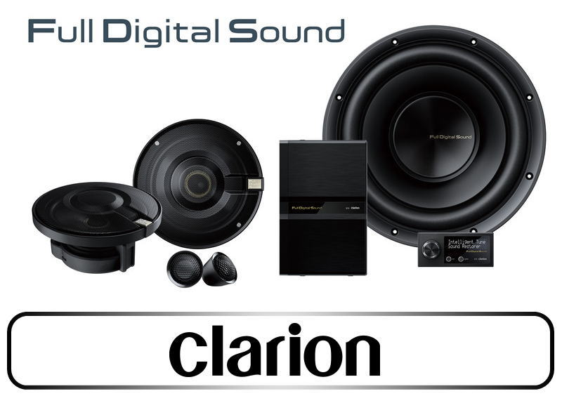 Full Digital Soundシステム|CLARION